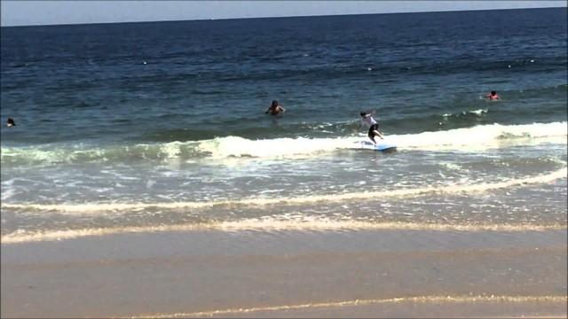 Fun at The Beach Surfing Fail