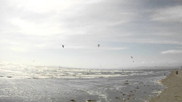 Kitesurfing in Dublin by GoPro