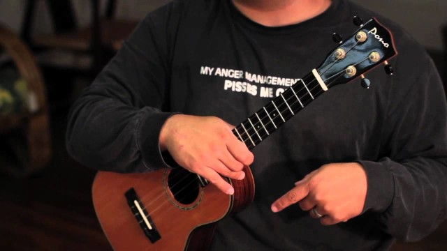 "Aarons Ukulele Lessons- ""Surf""- Ka'au Crater Boys Version"