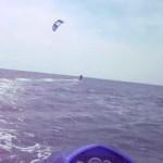Kite surfing school