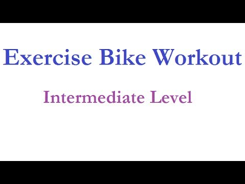Exercise Bike Interval Workout – intermediate