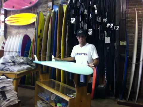 Mini Simmons surfboard: surfwanderer.com