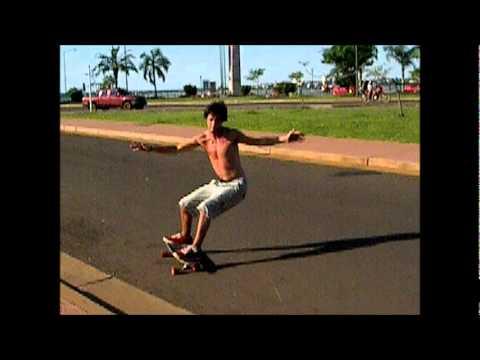 Frontside snap Surf/Longboard skate