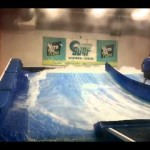 Indoor surfing fail very funny