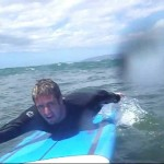 Maui Hawaii Surfing Fail-Guy bails after colliding into other surf board!