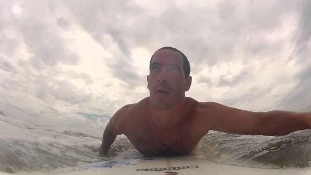 Surf em Peruibe (Longboard)