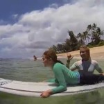 Best kids surfing lessons on Oahu