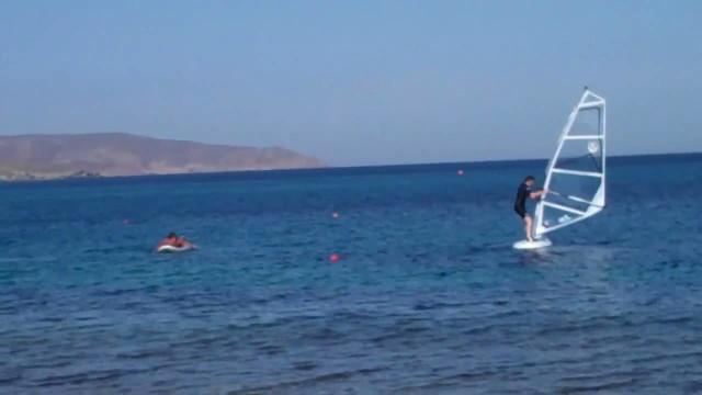 Day 5 wind surfing fail