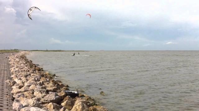 Andre – Kitesurfing – Texas City