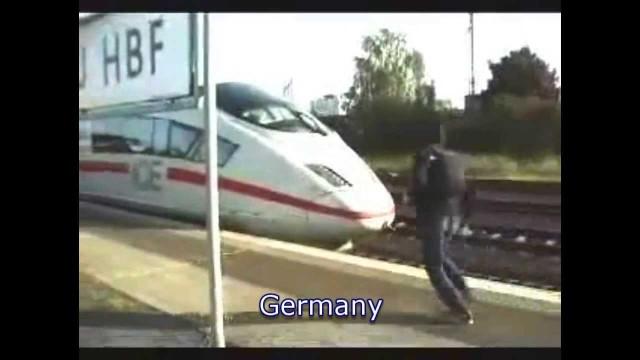 Train surfing compilation