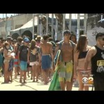 US Open Of Surfing Competition Begins At Huntington Beach