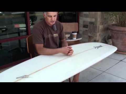 Stewart Surfboards 9'0 Redline 11 Longboard
