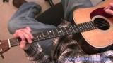 Open Position Acoustic Guitar Fills Lesson