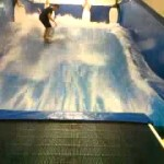 Indoor surfing fail!
