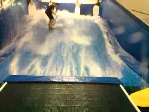 Indoor surfing fail!