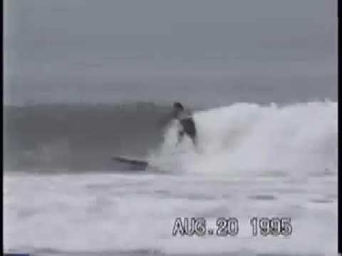 surfing cayucos Jamey Liddell longboard