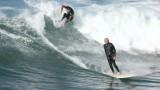 Surfing HB Pier 3/27/15