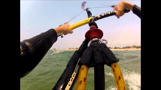 Kiteboarding Lake Michigan