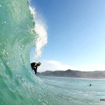 Surfing in New Zealand   Piha Bar