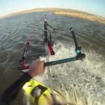 Kiteboarding movie with the GoPro Hero HD camera
