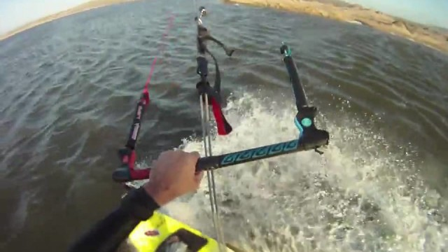 Kiteboarding movie with the GoPro Hero HD camera
