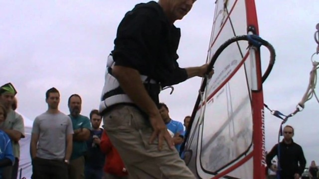 windsurfing lessons.Peter Hart about early planing (2)