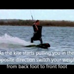 Learn to kiteboard turns and Transitions